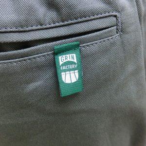 チノショート後ろポケット