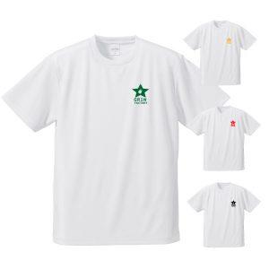 ワンポイントバスケTシャツ(ホワイト)