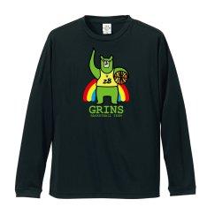 バスケ長袖Tシャツ「緑ま!(りょくま)」