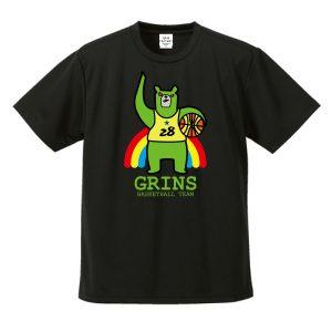 バスケTシャツ「緑ま!(りょくま)」