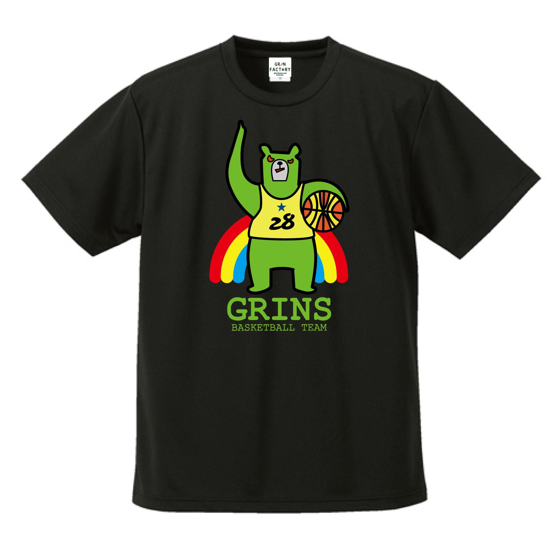新作バスケウェアランキング1位「グリンベア:緑ま!」Tシャツ