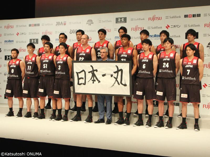バスケ日本代表男子