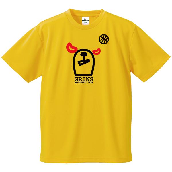 バスケットボールTシャツ「グリンベア_フェイス」