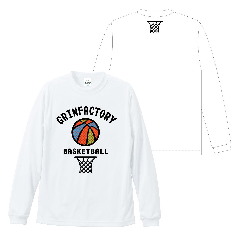 バスケットボール 長袖Tシャツ