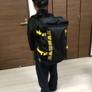 小3ミニバス選手絶賛!のバッグパック