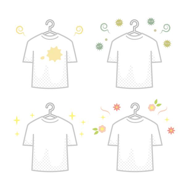 Tシャツの汚れ