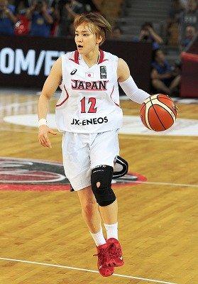 女子日本代表吉田麻美選手(2016年オリンピック予選より)