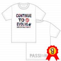 バスケTシャツ「CONTINUE TO EVOLVE」